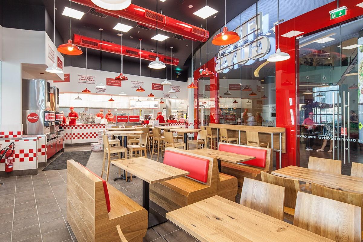 five guys restaurant to open in the disney village | salon mickey blog